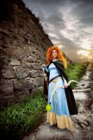 Merida, fate be changed by shua-cosplay