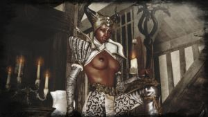 Dragon Age Inquisition - sexy Vivienne by ethaclane