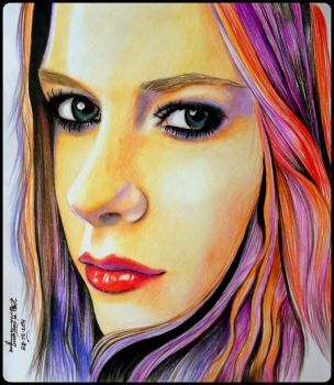 Avril Lavigne by Jenny-artascending