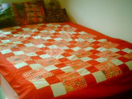In the name of the moon quilt by kohakuhoshi