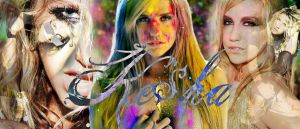 Ke$ha Wallpaper by fdty