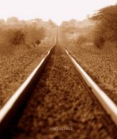 Railway to nowhere by archiejake