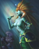 Naga Siren n Faceless Void Music Performance by Hanszs