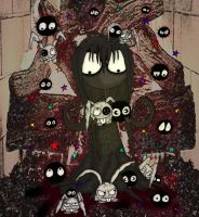 Soot Girl meets the soot sprites by ScorpionsKissx