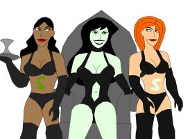 Shego's Slaves by Jimma1300