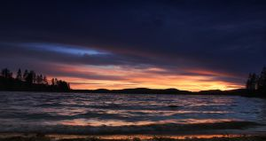 Magical night on nature's own scene by Sparvoga