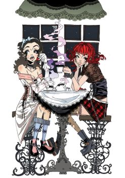 Tea Party by Ethereal-Mind
