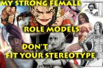 Stong Female Role Models by silverolivia