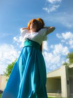 Thumbelina cosplay summer days by lilburi4ever