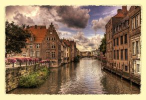 Walking in Ghent by rhipster