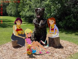 Winnie-the-Pooh Shrubbery by daanton