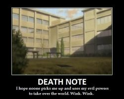 Death Note Motivational poster by Ninbikun