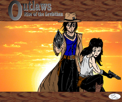 The Outlaws - Spades and Jayde by JohntheSilver