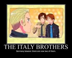 The Italy Brothers by WhenMidnightStrikes