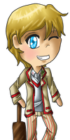 Chibi 5th Doctor by JoyKaiba