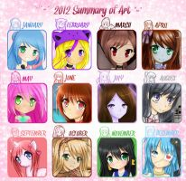 2012 Summary Of Art by MiMikuChair