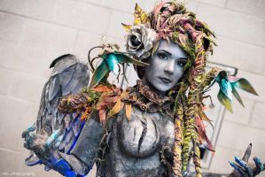 LoL: Haunted Zyra by XenPhotos