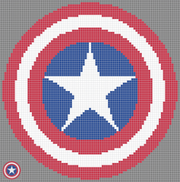Captain America Shield by Alien-Exile