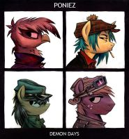 The Poniez by sophiecabra