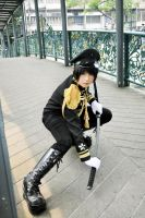 HETALIA: Kiku the dark samurai by Junez-chan