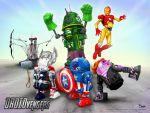 DROIDVENGERS by darrinbrege