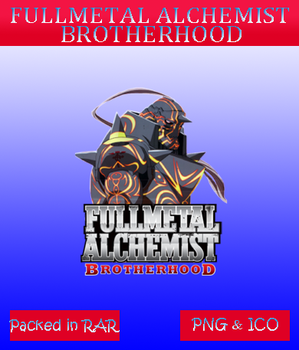 Fullmetal alchemist brotherhood - Anime icon by azmi-bugs
