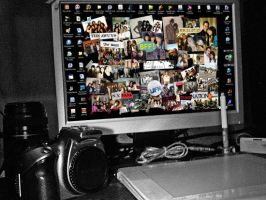 my full desktop - indeed by t3nshi