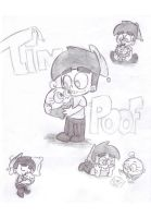 Timmy and Poof by Chibi-Danny