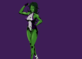 She Hulk by artdre3000