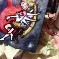 Sailor Moon Jewrly box by LuxiferRevengeCold