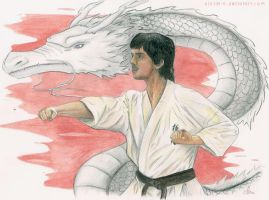 Karate Dragon by Aintza-K