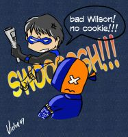 No Cookie-Wrong Nightwing by victorreno