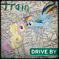 Train - Drive By (Rainbow Dash and Fluttershy) by AdrianImpalaMata
