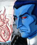 Grand Admiral Thrawn and Art by KaizokuShojo