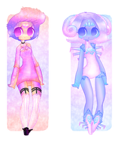 $5 Crystal Girls - Adopt Auction (one left) by x-CherryHime-x