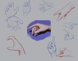 Hands Practice 4 by Anevis
