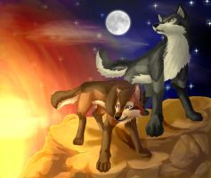 Tala and Alat for CrazyK913 by Tesseri-Shira
