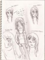 Toff's Emotions by SushiAutumn