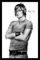 .Mikey Way by visual-sick