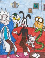 Talkin' Toons With Yakko Warner by Millie-the-Cat7
