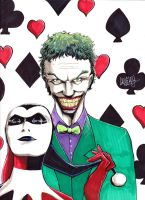 Joker and Harley by LangleyEffect