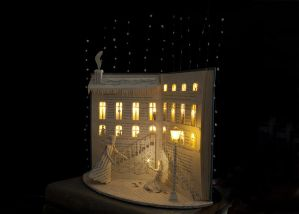 The Little match girl Book Sculpture 2 by AnemyaPhotoCreations