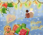 Happy Holidays *Rochu* by thunderbolt3000
