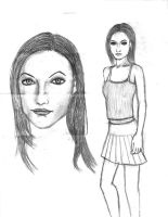 Olivia Wilde drawing by DKANG0316