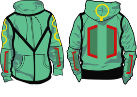 Rayquaza Hoodie WIP by StarLegend