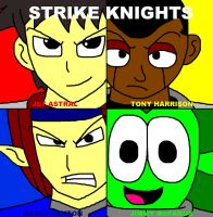 Strike Knights - Character Poster by ian2x4