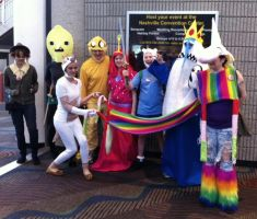 Our Adventure Time at MTAC 12  by virtualpapercut