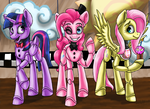 Five Nights at Pinkie's by ArtyJoyful