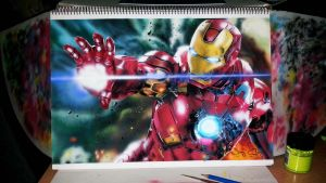 Iron Man- (15a) by Creativeminds2014