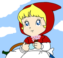 Little Red Riding Hood's SABAN version by Maleiva